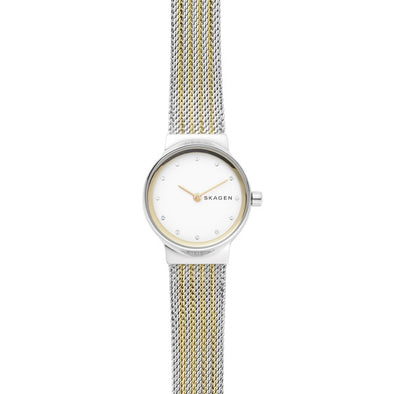 Skagen Ladies 2 Tone S/S Gold Watch SKW2698