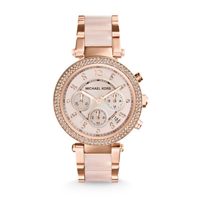 Michael Kors Parker Rose Pink Watch MK5896