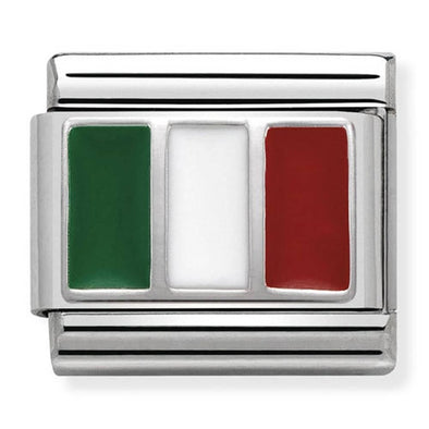 Nomination Charm Italy Flag 330207-16