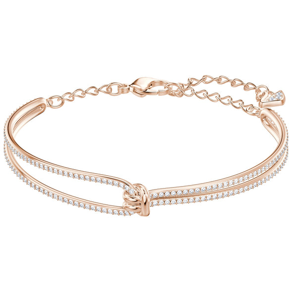 Swarovski lifelong bangle Rose M 5390818