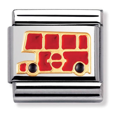 Nomination Gold London Bus Charm 030210-19