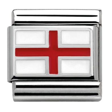 Nomination England Flag Charm 330207-03