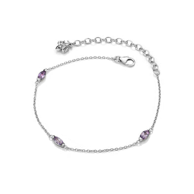 Hot Diamonds Anais Bracelet - Amethyst - February
