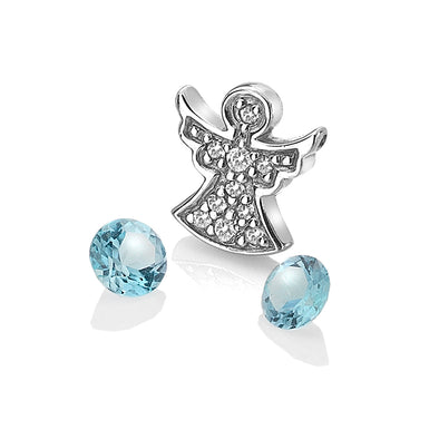 Hot Diamonds Anais Silver Angel Charm AC104