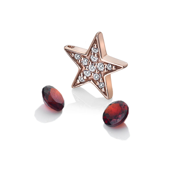 Hot Diamonds Anais Silver Star Charm AC111