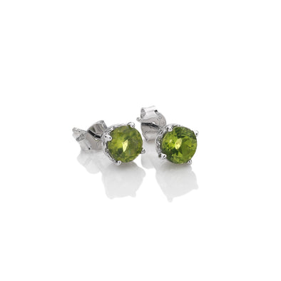 Hot Diamonds August Peridot Earrings AE008