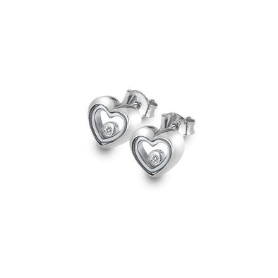 Hot Diamonds Anais Silver Encase Earrings AE013