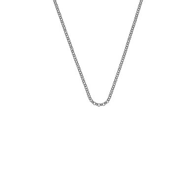 "Hot Diamonds Emozioni Silver Belcher Chain 24"" CH058"