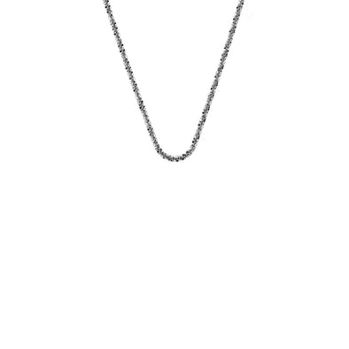 "Emozioni By Hot Diamonds Criss Cross Chain 18"" CH090"