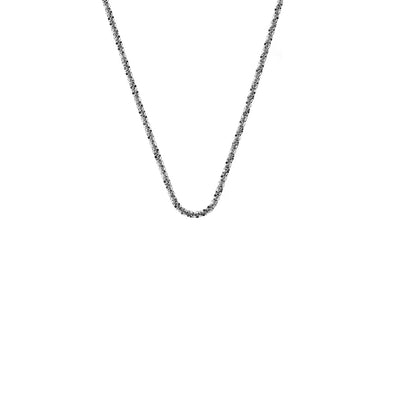 "Emozioni By Hot Diamonds Criss Cross Chain 24"" CH091"