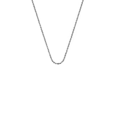 "Emozioni By Hot Diamonds Thin Criss Cross Chain 24"" CH093"