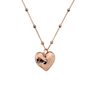Hot Diamonds Rose Touch Heart Pendant DP679
