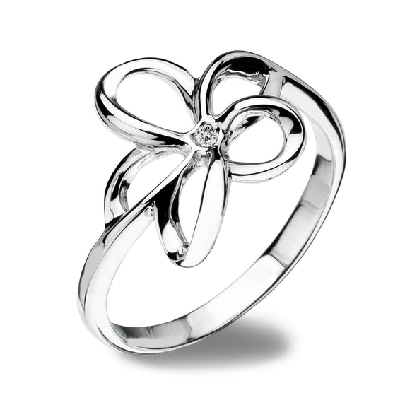 Hot Diamonds Plumeria Ring Size  N