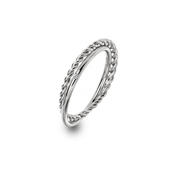 Hot Diamonds Unity Ring DR210