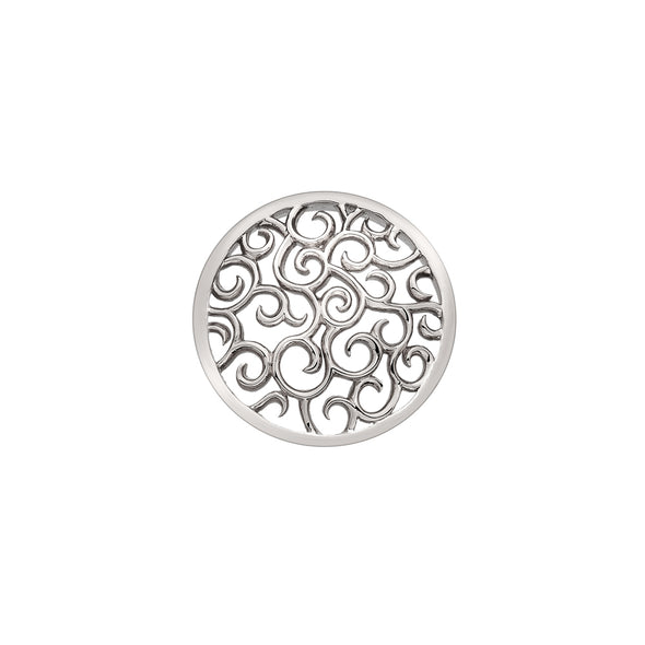 Hot Diamonds Emozioni Sterling Silver Winding Paths 25mm EC145