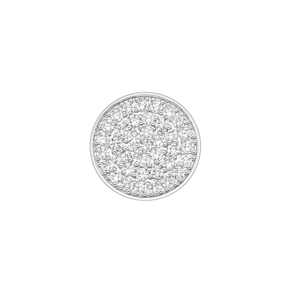 Hot Diamonds Emozioni Ladies Silver 25mm Innocence Coin