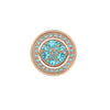 Hot Diamonds Emozioni 25mm Flip Blue Coin EC412