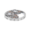Hot Diamonds Emozioni Champagne Freedom Coin 25mm EC448