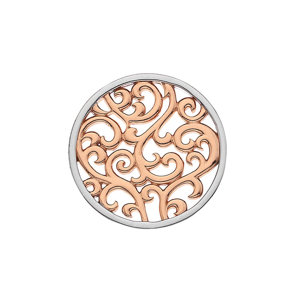 Hot Diamonds Emozioni 33mm Winding Path Reverse Coin