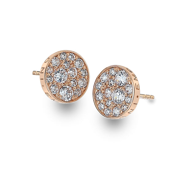 Emozioni By Hot Diamonds Purity Rose Gold Plated Earrings EE014