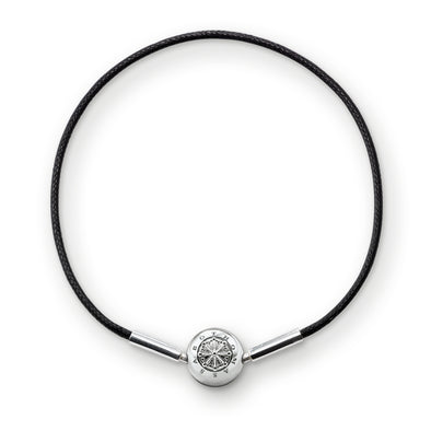 Thomas Sabo Black String Bracelet KA0003-653-11-L38