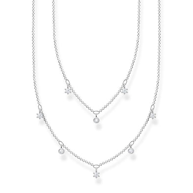 Thomas Sabo Jewelry Women's Necklace Two Row KE2072-051-14-L45v