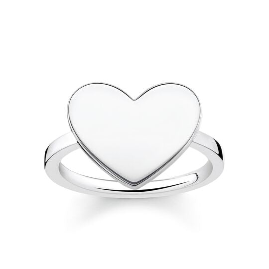 Thomas Sabo Size 52 Ring Heart LBTR0002-001-12-52
