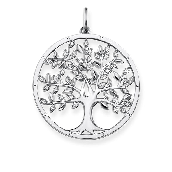 Thomas Sabo Silver Tree of Love Pendant PE759-051-14