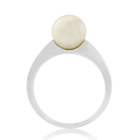9ct Gold Cultured Pearl Ring