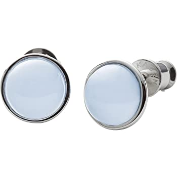 Skagen Sea Glass Silver-Tone Stud Earrings SKJ0820040