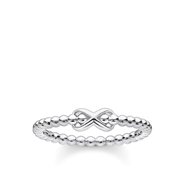Thomas Sabo Ring dots with infinity silver TR2320-001-21-56