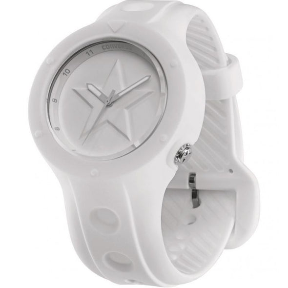 Converse White Rubber Watch