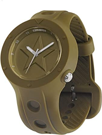 Converse Brown Rubber Watch