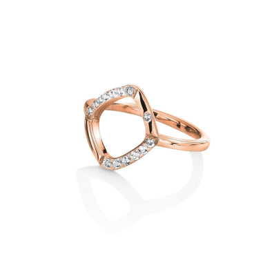 Hot Diamonds Rose Behold Ring DR218