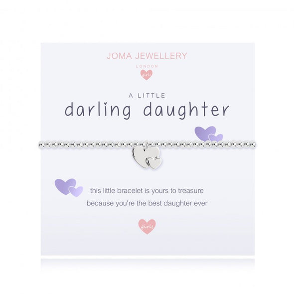 Joma Jewellery Children's A Little Darling Daughter Bracelet C446