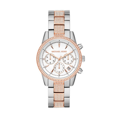Michael Kors Ritz two tone Rose S/S watch MK6651