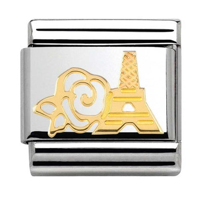 Nomination Rose Gold Eiffel Tower Charm 030162-18