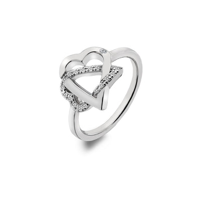 Adorable silver ring Size N