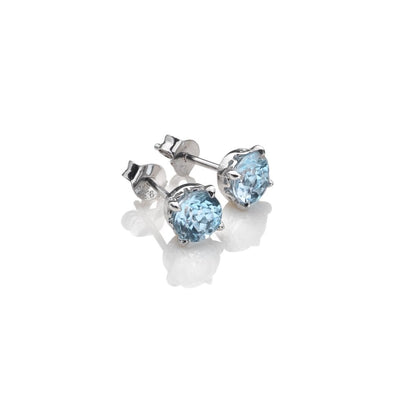 Hot Diamonds Anais Blue Topaz Silver Earrings AE012
