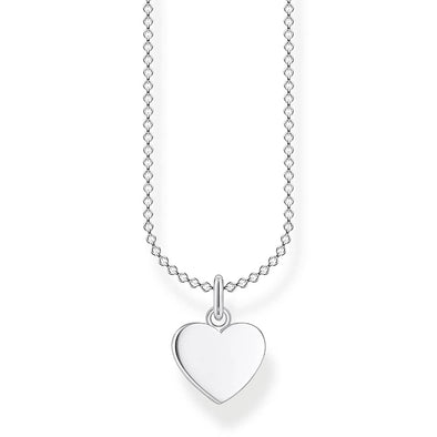 Thomas Sabo Silver Heart Necklace KE2048-001-21-L45V