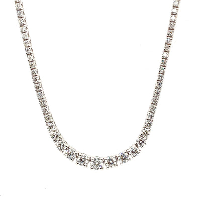 18ct Gold Diamond Necklace NK92