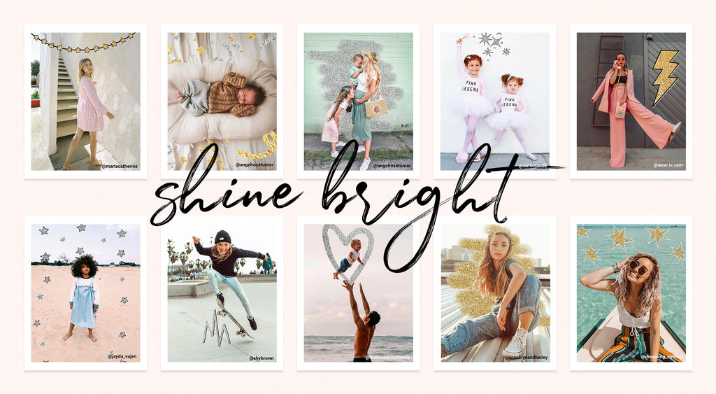 Shine Bright Digital Doodle Pack