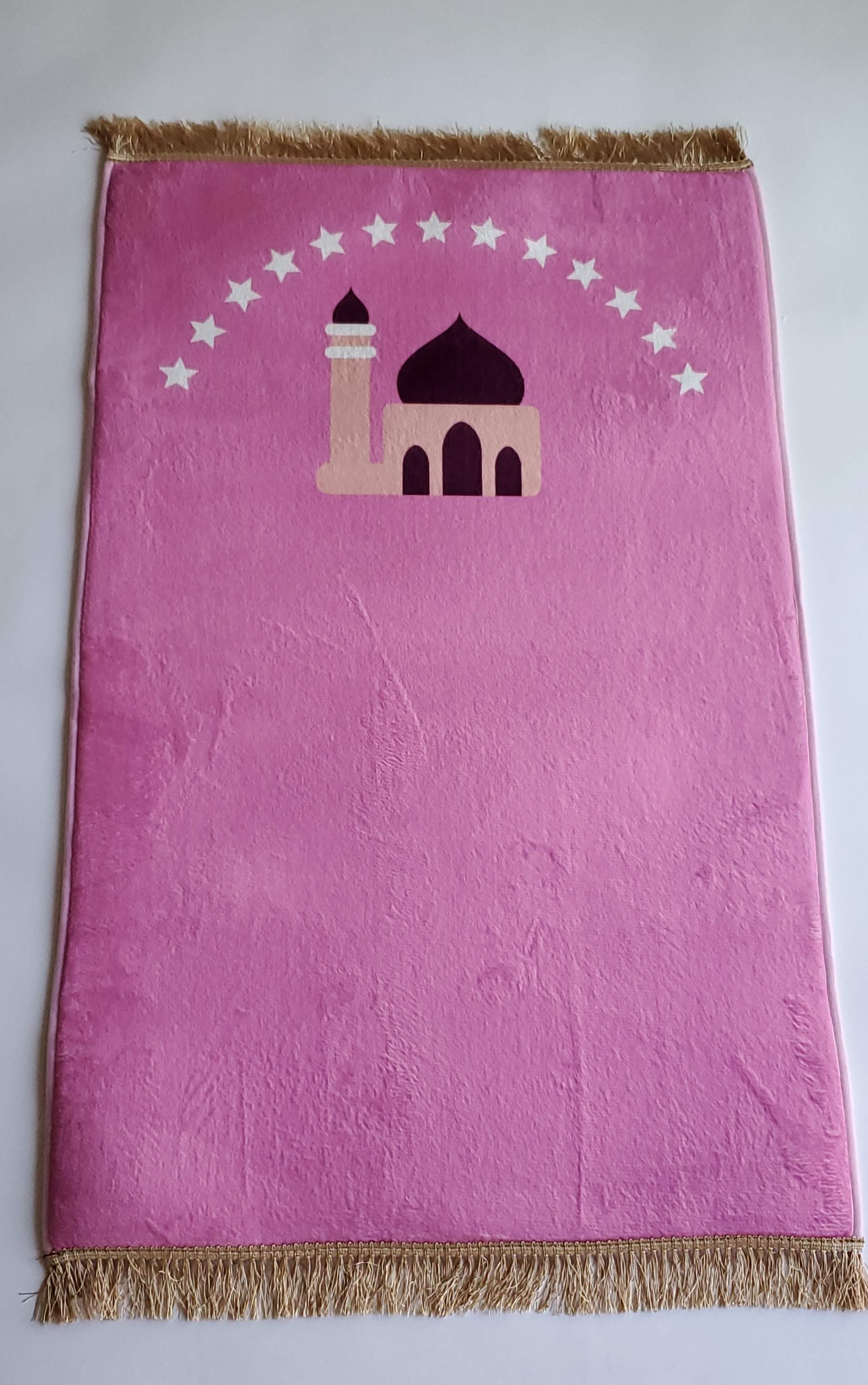 Prayer mat - Pink mosque (4457361702961)