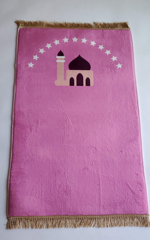 Prayer mat - Pink mosque