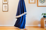 Prayer clothes for girls - Royal blue with a white trim (4514152251441)