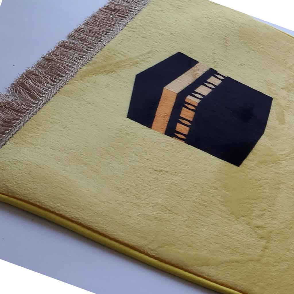 Prayer Mat - Ka'aba - Yellow