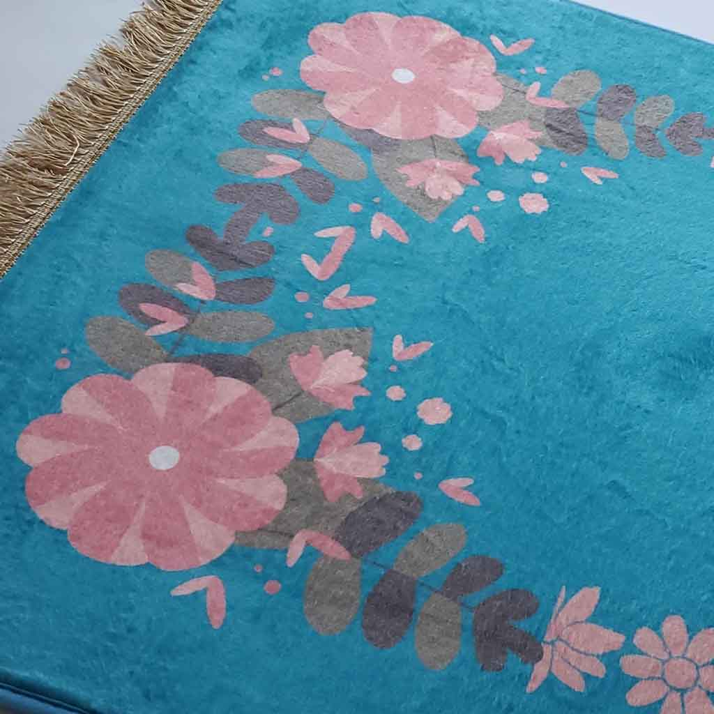 Prayer Mat - Maryam - Flowers