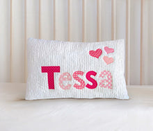 Load image into Gallery viewer, Personalized Baby Name Pillow07 - Loves - Girl