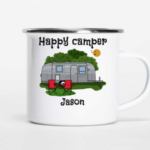 Personalized Happy Campers Mugs I02