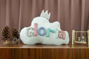 Personalized Name Cushion Cloud 08